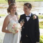 Bröllop Stenungsögården, Stenungsund, Bohuslän kapell vid havet logi