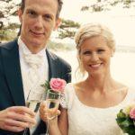 Bröllop Stenungsögården, Stenungsund, Bohuslän kapell vid havet